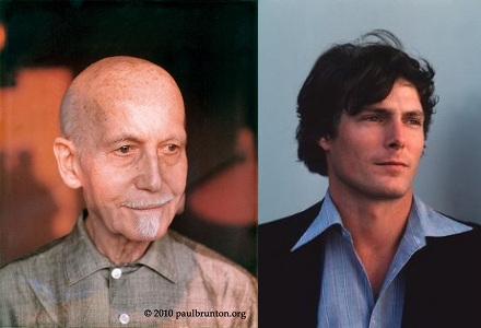 Paul Brunton, Christopher Reeve